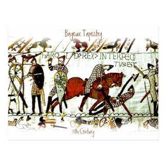 The Bayeux Tapestry a5 Postcard