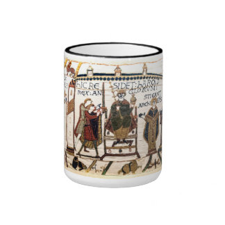 The Bayeux Tapestry: Coronation of Harold Ringer Coffee Mug