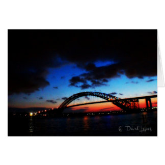 The Bayonne Bridge Note card