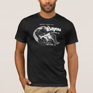 The Bayou (Original on Black Tee) T-Shirt
