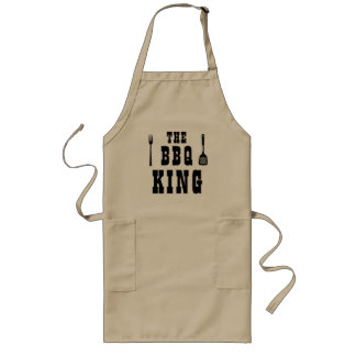 The BBQ King or Queen Customize Cooking Apron Chef