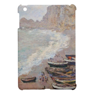 The Beach at Etretat - Claude Monet Case For The iPad Mini