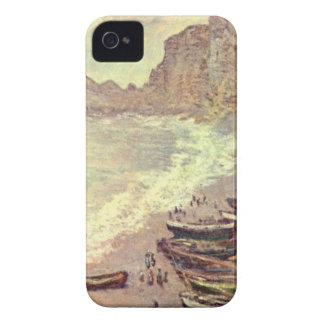 The Beach at Etretat - Claude Monet Case-Mate iPhone 4 Cases