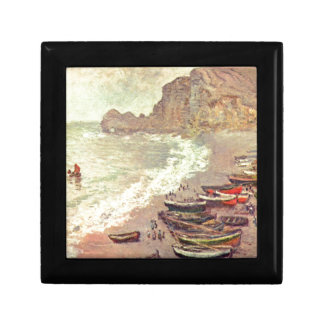The Beach at Etretat - Claude Monet Gift Box