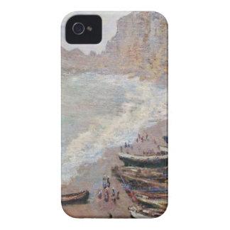 The Beach at Etretat - Claude Monet iPhone 4 Case-Mate Cases
