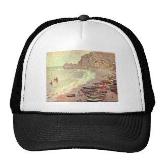 The Beach at Etretat - Claude Monet Trucker Hat
