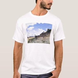 The Beach at Honfleur, 1865 Claude Monet T-Shirt