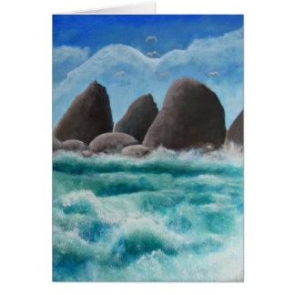 The Beach at Oceanside Card