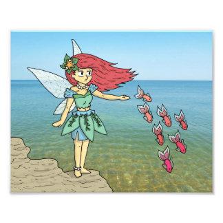 The Beach Fairy Art Photo
