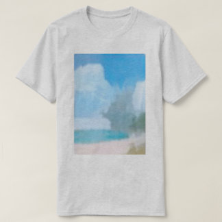 The beach (grey) T-Shirt