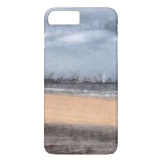 The beach iPhone 7 plus case