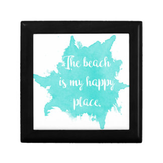 The Beach Is My Happy Place Gift Box