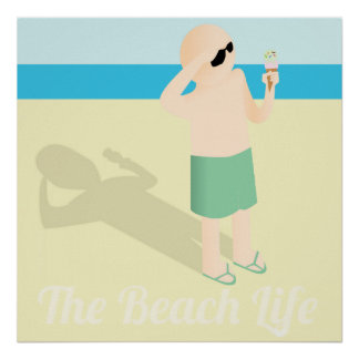 The Beach Life Poster