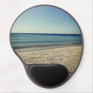 The Beach -Textured Look Gel Mouse Pad