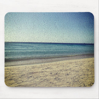 The Beach -Textured Look Mouse Pad