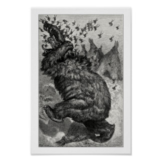 The bear and the behive poster