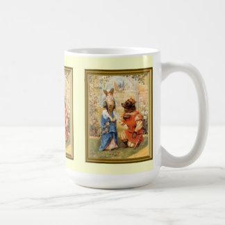 The bear and the princess coffee mug