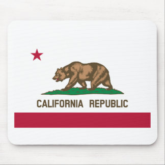 The Bear Flag - Flag of the State of California Mouse Pad
