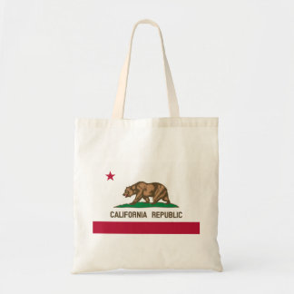 The Bear Flag - Flag of the State of California Tote Bag