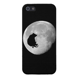The Bear in the Moon iPhone 5 Cases