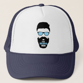 The beard man hat