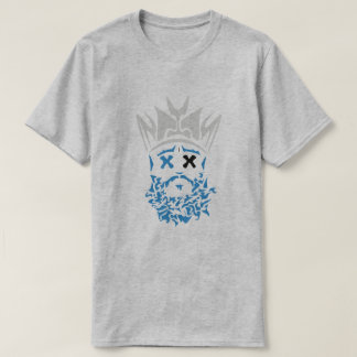 The Bearded King- Carolina Panthers Colorway T-Shirt