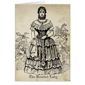 The Bearded Lady Card