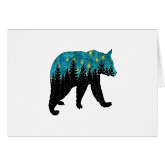 THE BEARS NIGHT CARD