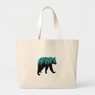 THE BEARS NIGHT LARGE TOTE BAG