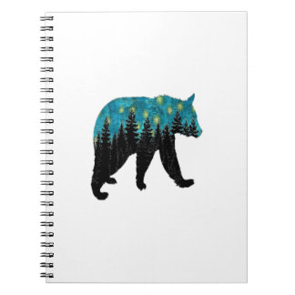 THE BEARS NIGHT SPIRAL NOTE BOOKS