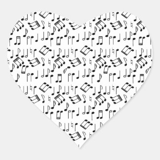 The Beat Goes On Heart Sticker