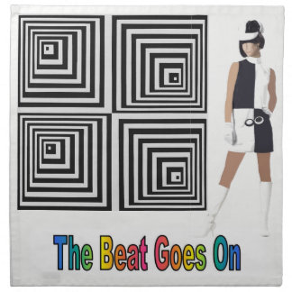 The Beat Goes On Napkin