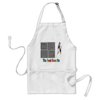 The Beat Goes On Standard Apron