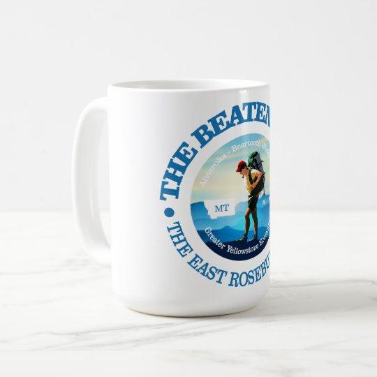The Beaten Path (East Rosebud Trail) Hiker C Coffee Mug