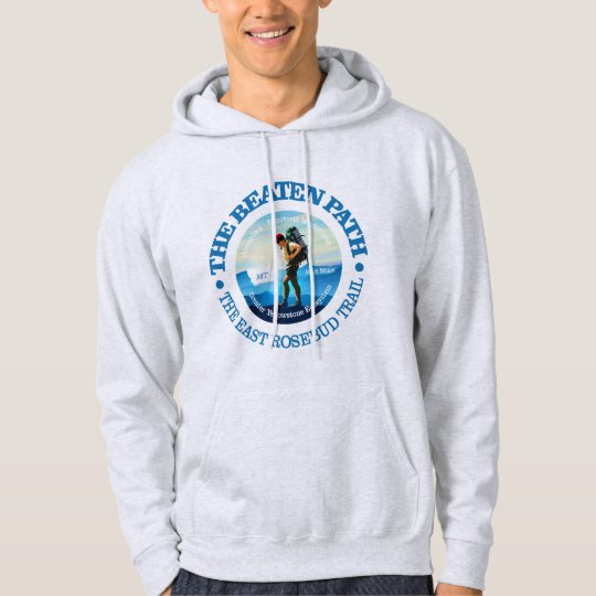 The Beaten Path (East Rosebud Trail) Hiker C Hoodie