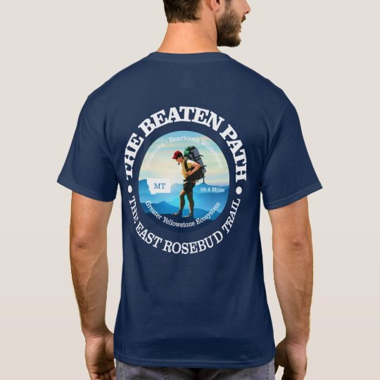 The Beaten Path (East Rosebud Trail) Hiker C T-Shirt