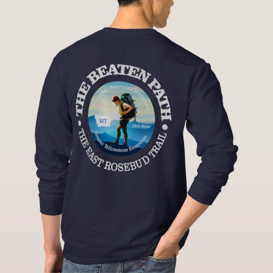 The Beaten Path (East Rosebud Trail) Hiker C T-Shirt
