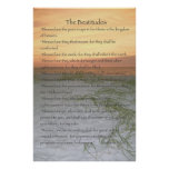The Beatitudes Poster (vertical)