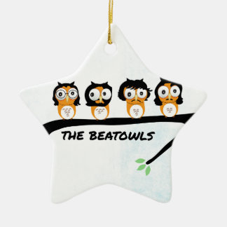 The Beatowls Ceramic Star Ornament