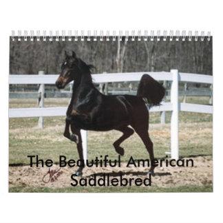 The Beautiful American Saddlebred Calendar