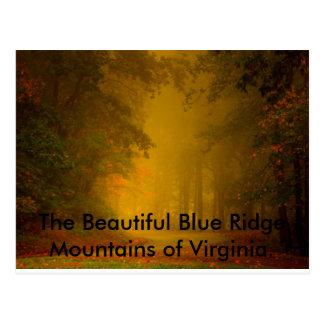 The Beautiful Blue Ridge Mountains of Virgi... Postcard