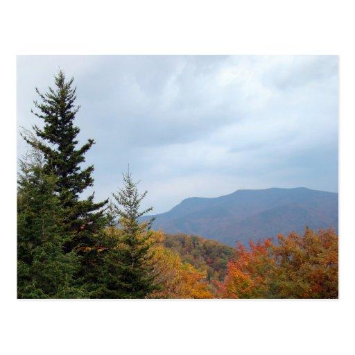The Beautiful Blue Ridge Mountains Post Card