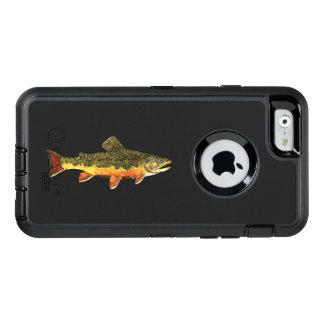 The Beautiful Brook Trout Fisherman's OtterBox Defender iPhone Case