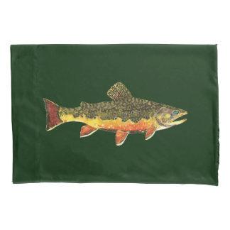 The Beautiful Brook Trout Pillowcase