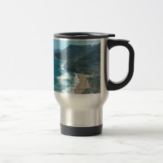 The beautiful coastline of Queensland, Australia Travel Mug