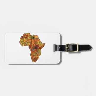 THE BEAUTIFUL CONTINENT LUGGAGE TAG