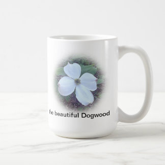 the beautiful dogwood coffee mug