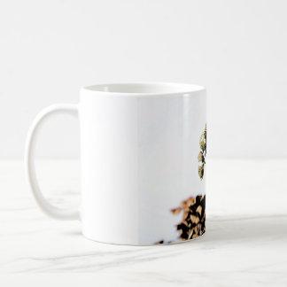 The beautiful flower coffee mug