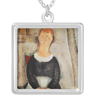 The Beautiful Grocer Silver Plated Necklace