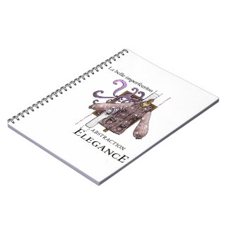 The beautiful imperfection spiral notebook